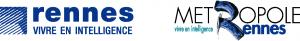 Logo Ville de Rennes & Rennes Métropole